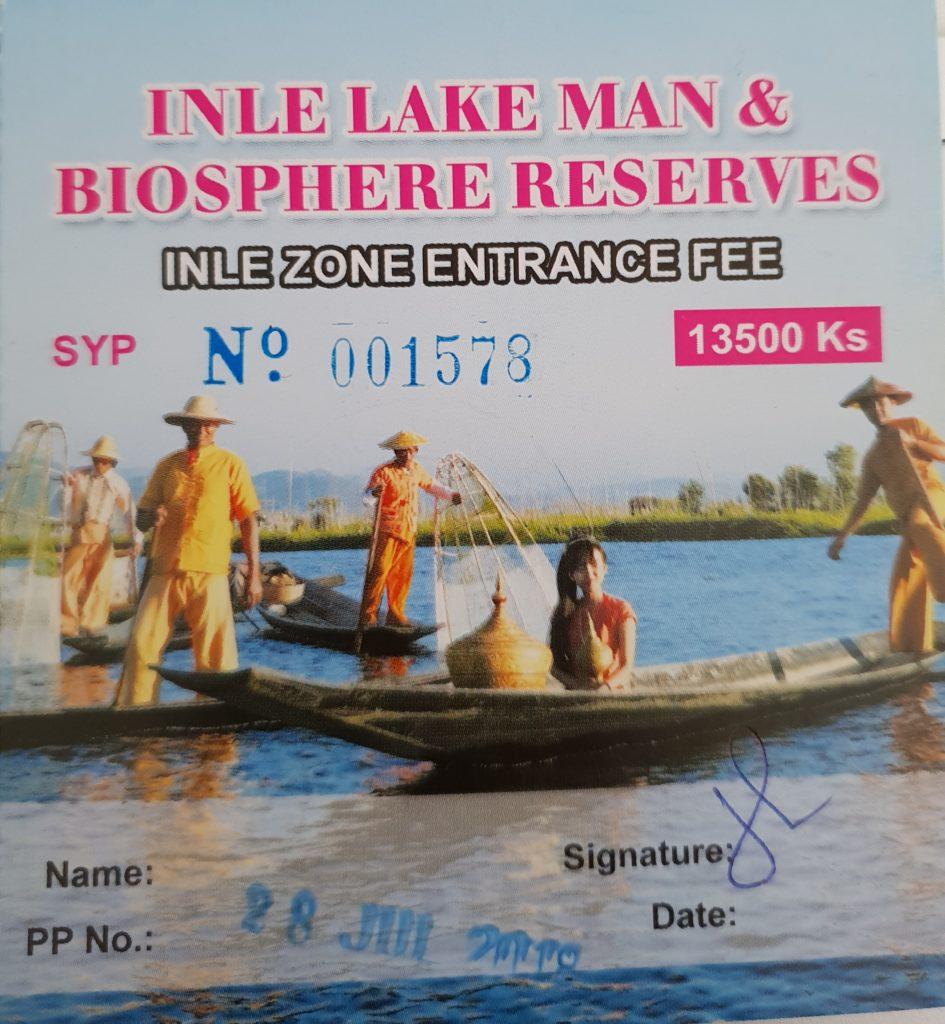 Inle lake travel