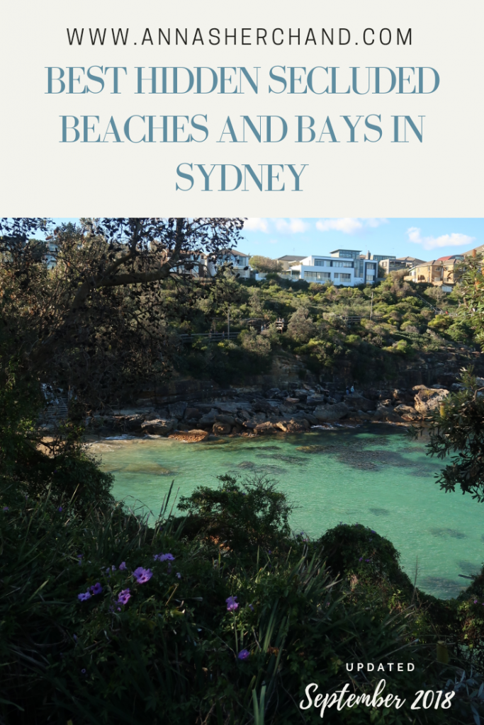hidden beaches and bays in Sydney