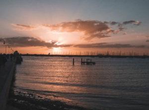 sunsets at st kilda beach
