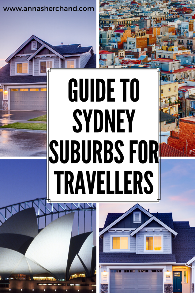 Sydney suburbs for travellers