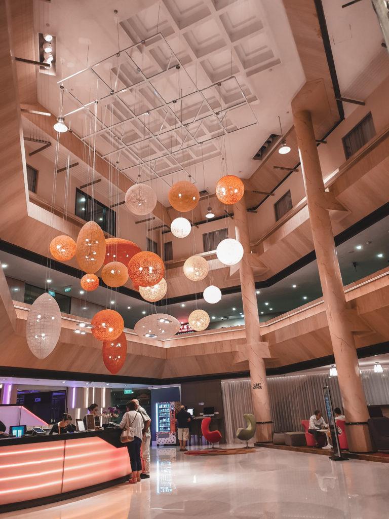 reception area of furama city center