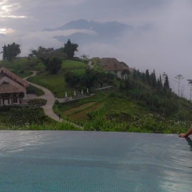 Topas ecolodge infinity pool