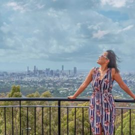 solo female traveller brisbane