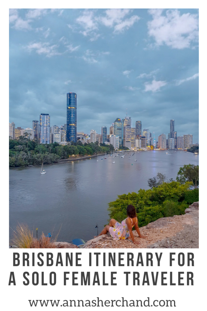 brisbane itinerary