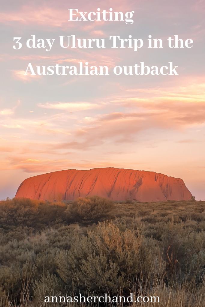 3 day Uluru trip