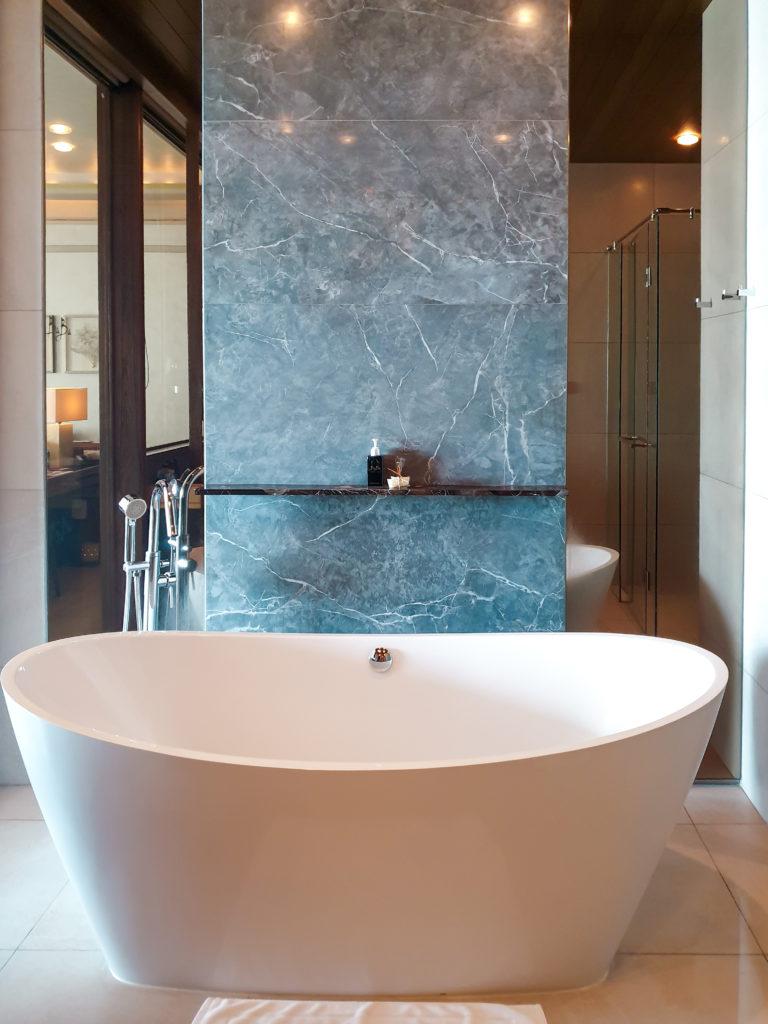 huge bath tub at the baba beach club
