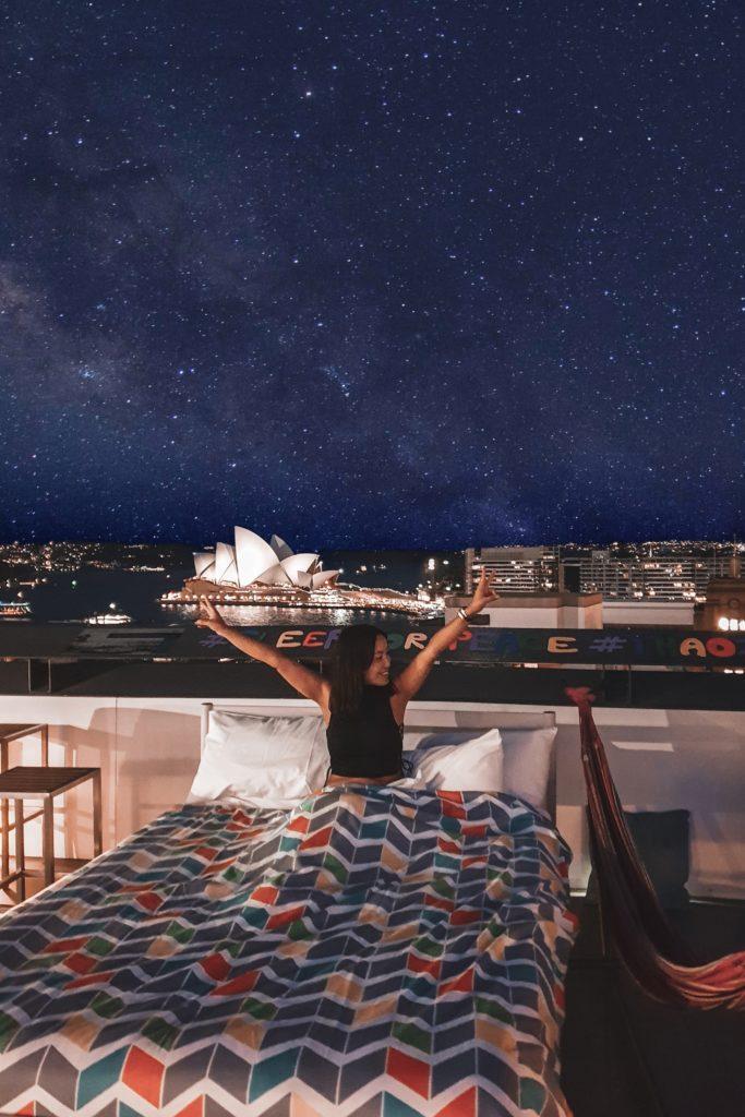 Australian travel blogger