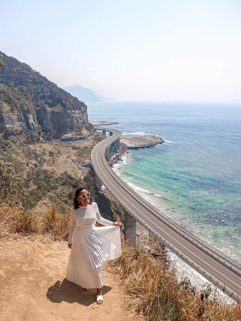 How to get to sea cliff bridge