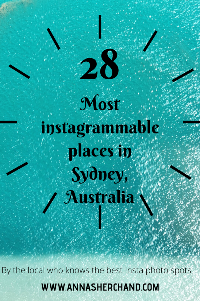 most instagrammable places in sydney australia