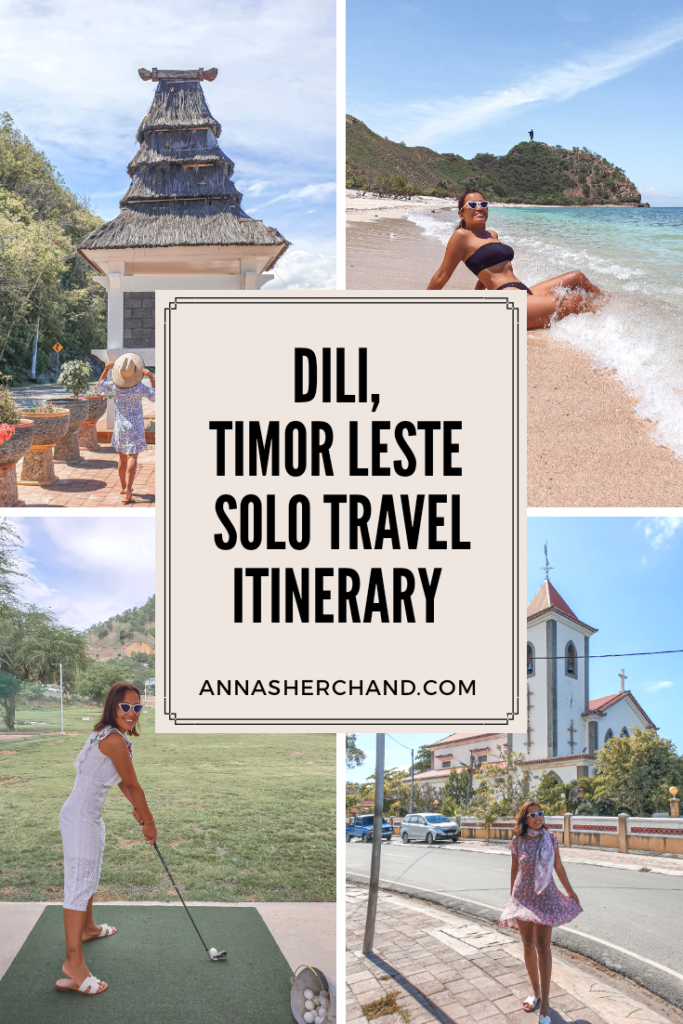 Solo travel to dili pic