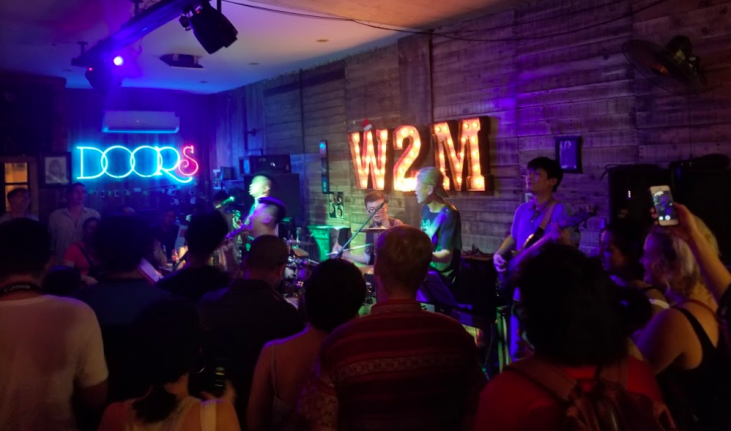 Best bars in hanoi rock live band
