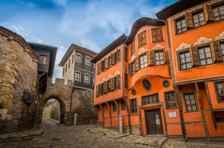 ancient house in plovdiv from sofia tours