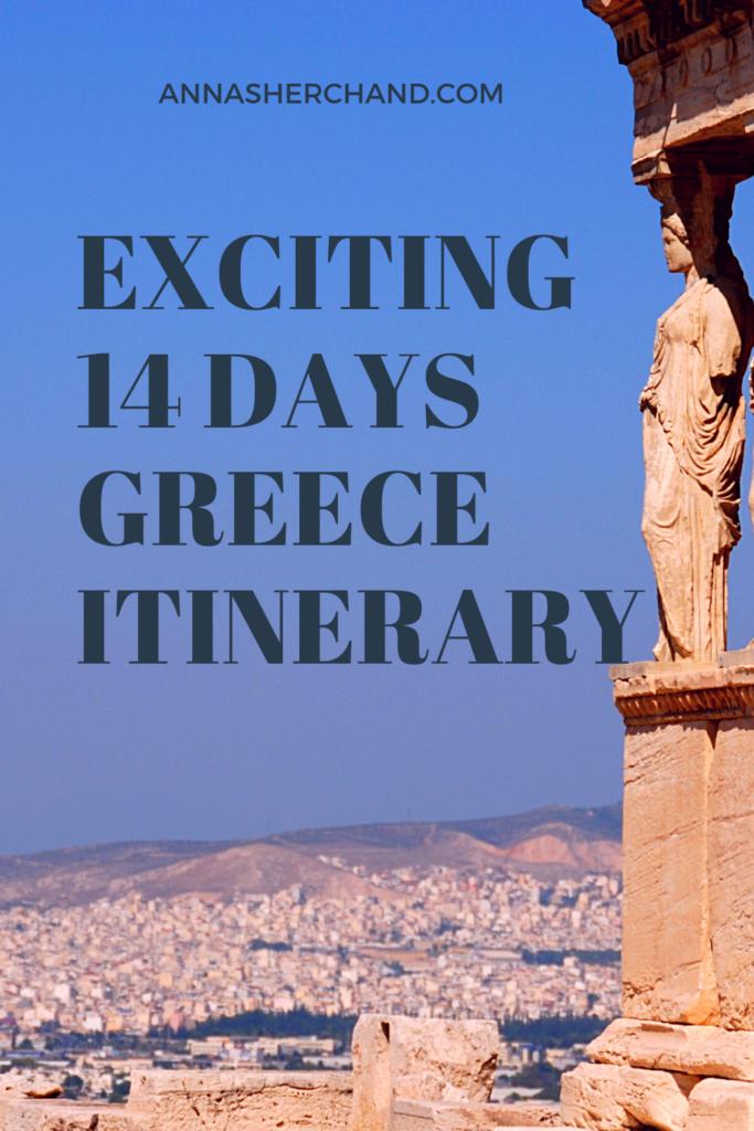 greece itinerary 14 days