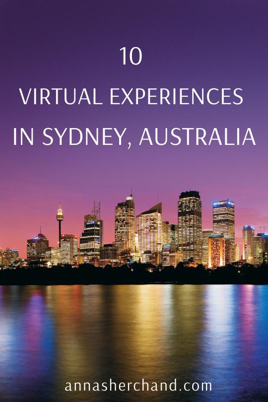 Virtual Experiences in Sydney