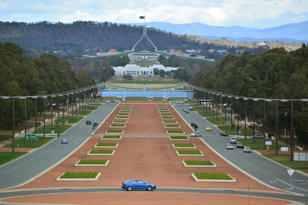 Solo itinerary to Canberra