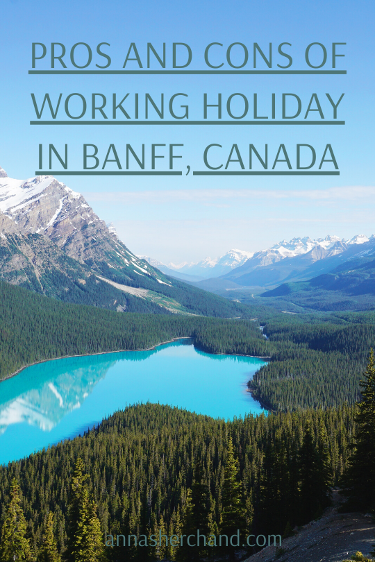 working holiday in Banff