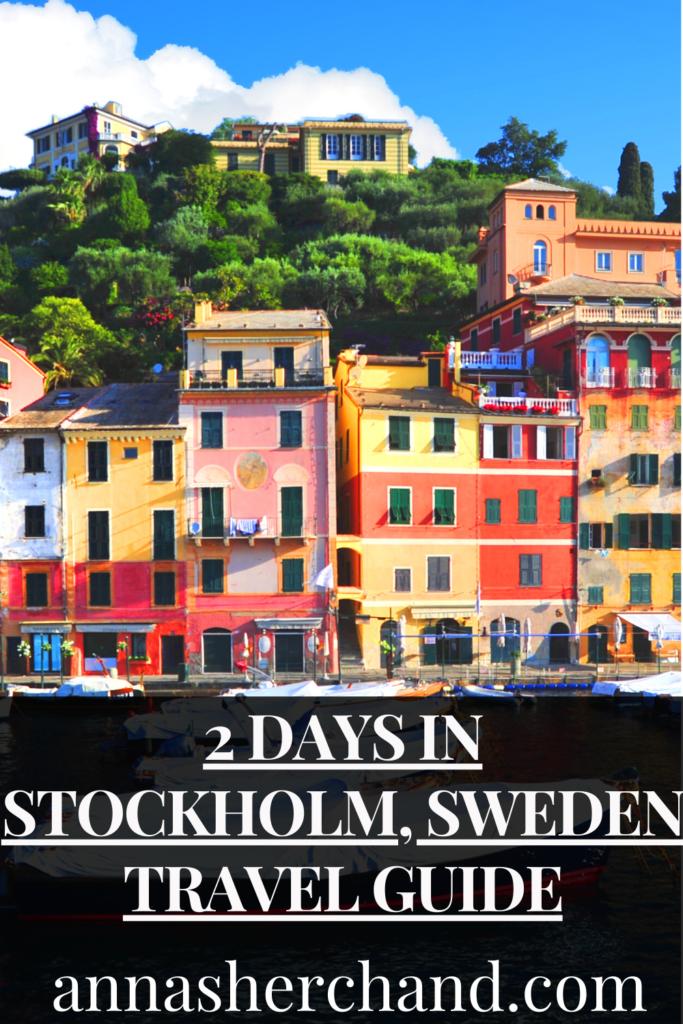 2 days in stockholm