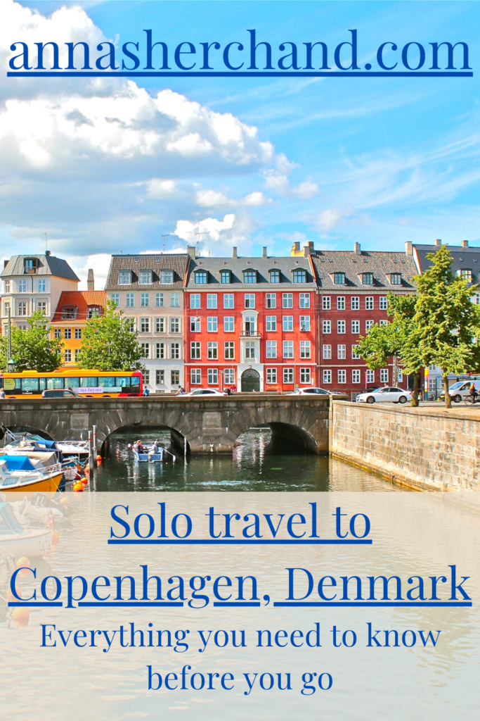 Solo travel to Copenhagen, denmark
