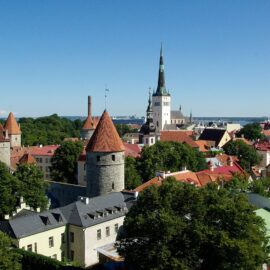 Solo travel to Tallinn, Estonia