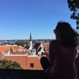 solo travel to tallinn