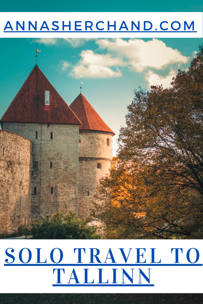 solo travel to tallinn