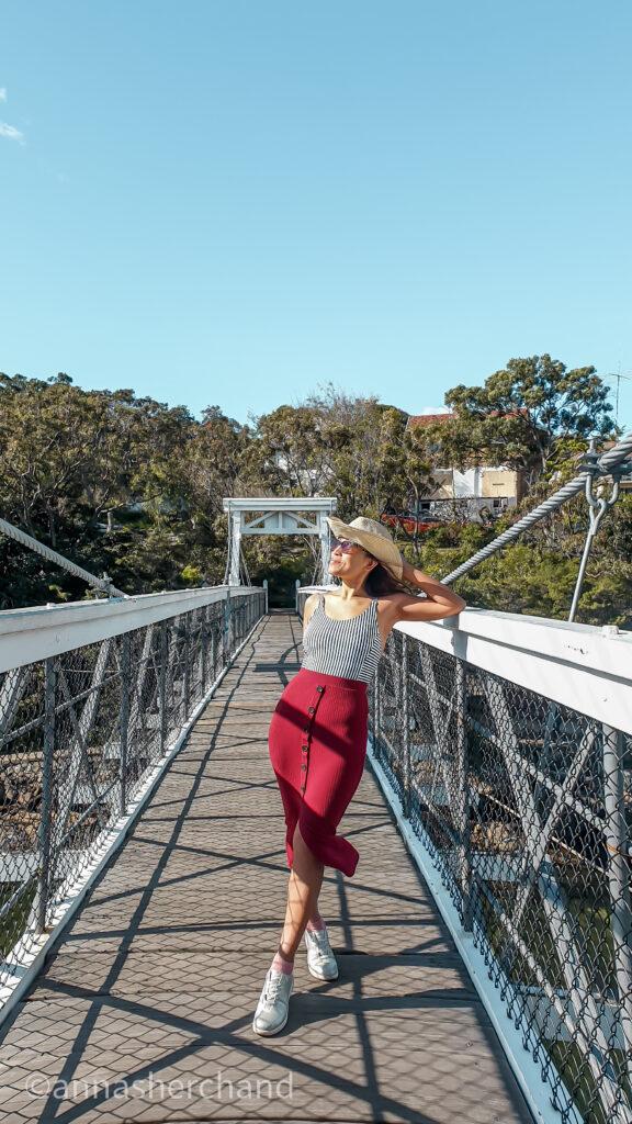 Parsley Bay Bridge walk