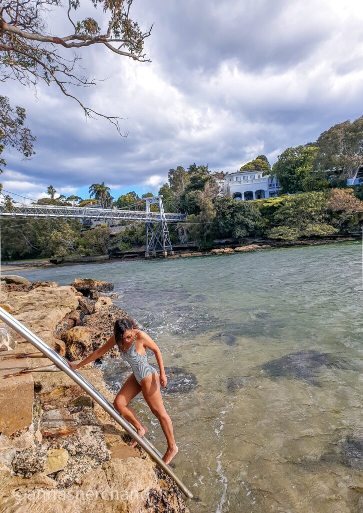 Parsley Bay Bridge walk