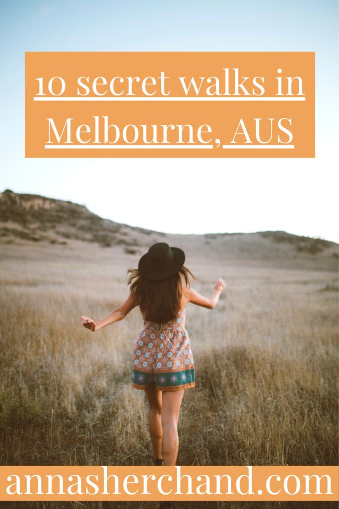 secret Melbourne walks