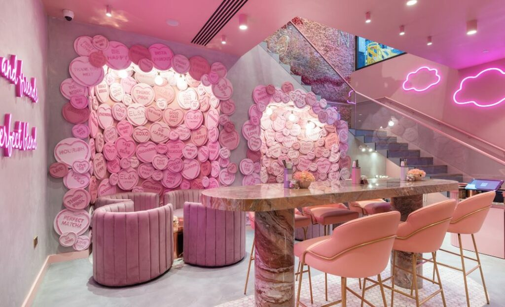 Beautiful cafes in london