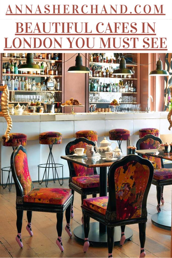 cute cafes in london