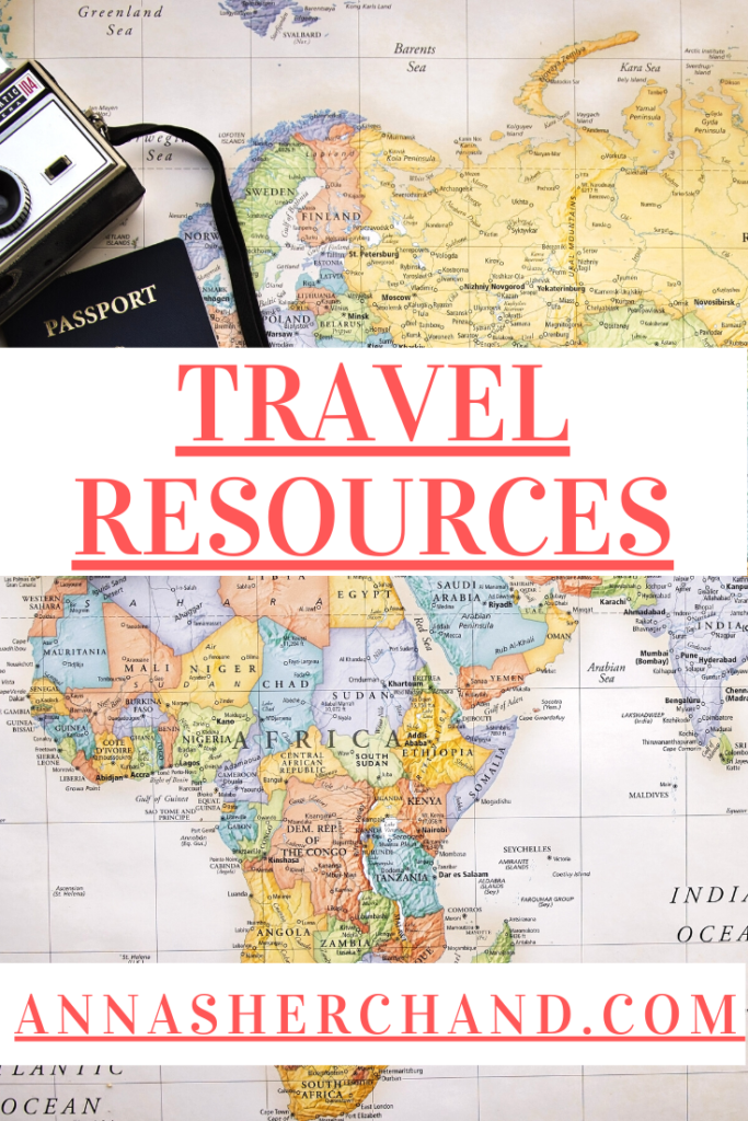 travel resources for 2021