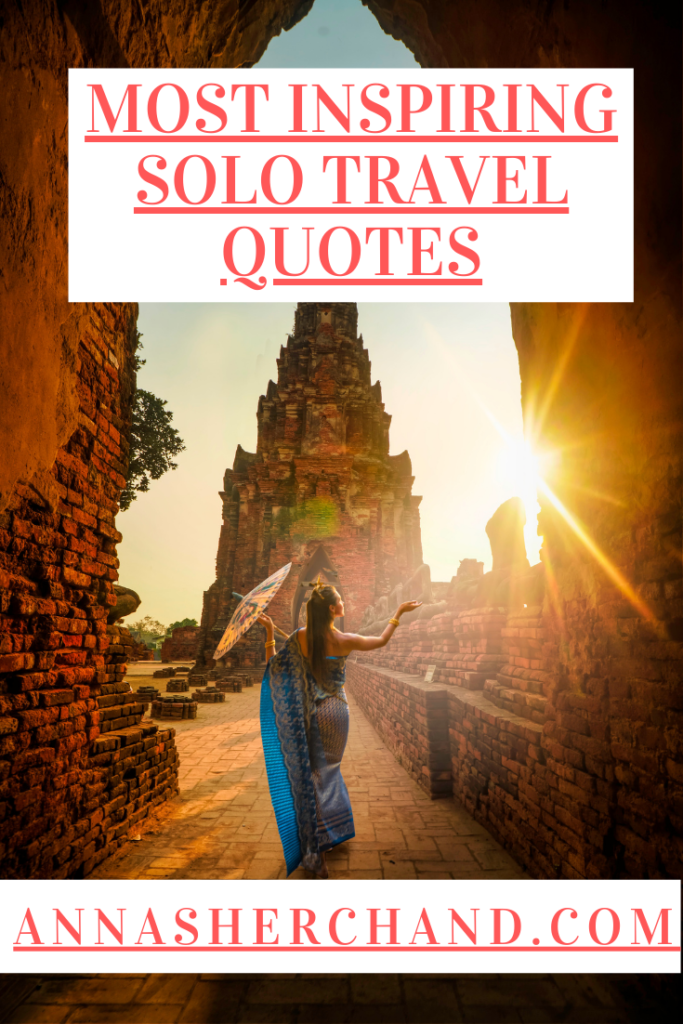 traveling solo quotes