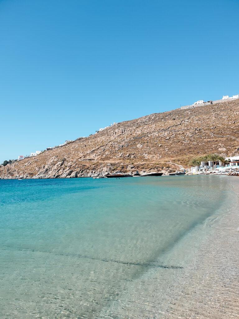 Psarou Beach, greece